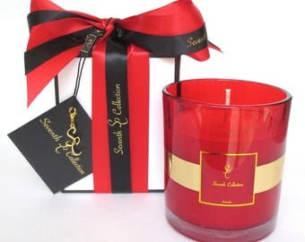 Christmas Cinnamon Buns X-Large Soy Candle Seventh Collection