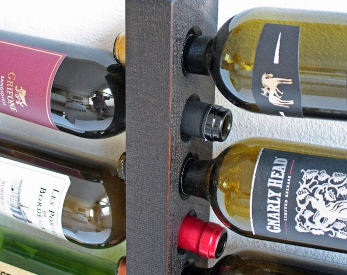 Wall Wine Rack - 10 Bottle Holder Storage Display