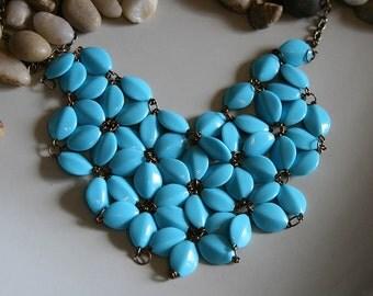 Heart Bib Necklace