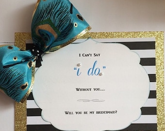 The Bridesmaid Card
