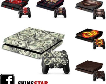 Skins for your PS4