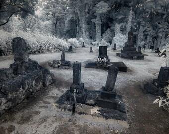 Gravestones, Honohina Cemetery, Hawai'i