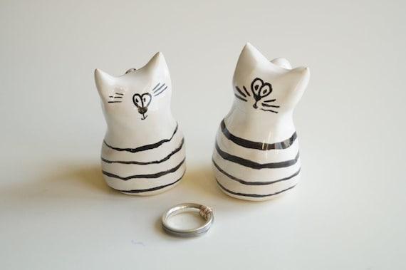 Wedding Cake Topper Cat Cake Topper Wedding Cake Decor Cat