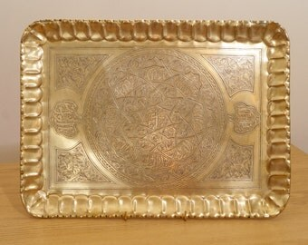 45 x 33 cm Antique Tray / Serving Plate