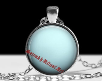 Uranus necklace Astrology pendant Planet jewelry Magic jewellery #433.7
