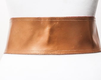 Copper Gold corset Leather Two Gold Buckle Belt | Gold Belt | Corset Waist Belt | Leather Buckle Belt | Buckle Belt