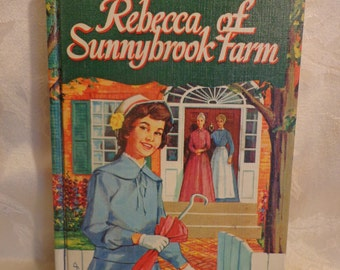 Rebecca Of Sunnybrook Farm Book, 1960, Whitman Publishing Company, Vintage Hardcover Book
