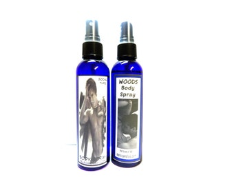 COMBO Woods & Socal Body Sprays You are purchasing a 4oz Bottle of our Version of AF Fierce and Our Version of Hollisters Mens SoCal