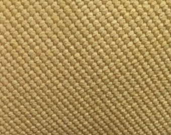 Yellow Textured Upholstery Fabric