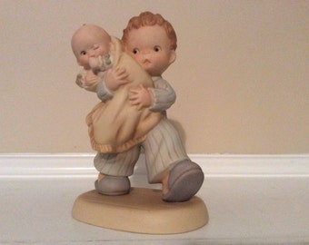 """A Memories of Yesterday Figurine, """"The Future-God Bless 'Em"""" Lucie Attwell."""