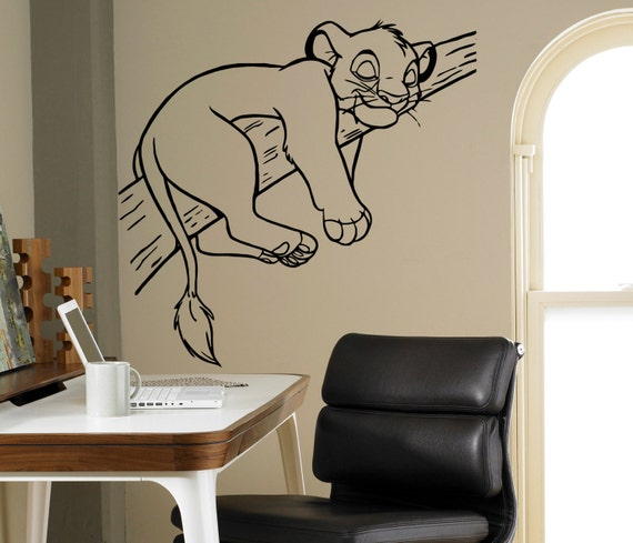 Lion King Wall Cartoon