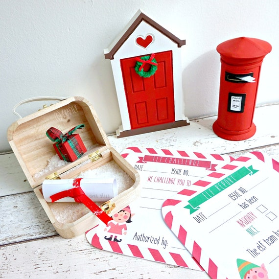 Elf Door Messenger Set
