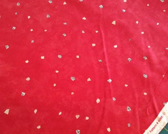 Story Fabric from Carrie Bloomston for Windham Fabrics, Stars in Red