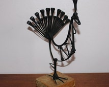 Unique Rooster Figurine Related Items Etsy