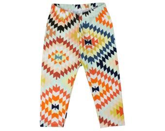 Serape Aztec Tribal Baby Leggings Tribal Toddler Leggings Unisex Kids' Clothing Tribal Boy Leggings Boy Toddler Pants Girl Pants
