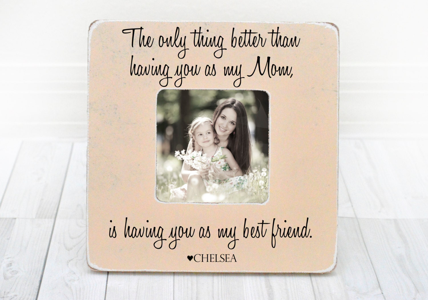 2291 - Mother Daughter Picture Frame