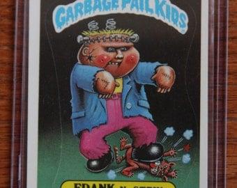 Garbage Pail Kids - Frank B. Stein (112a - 1986)