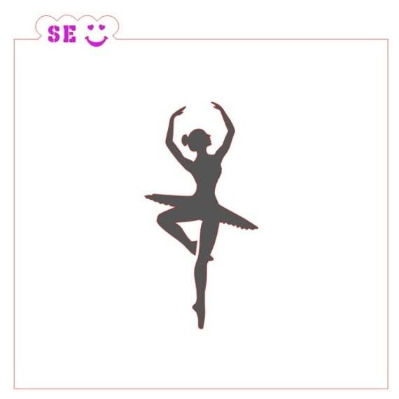 Ballerina Stencil Dance From Stencilexpressions On Etsy Studio
