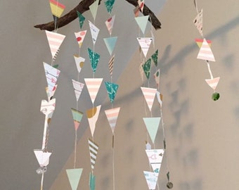 Hanging Mobile or Nursery Decor