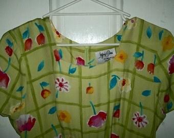 Vintage Mid Length Dress size 10
