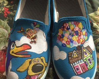 custom painted adult shoes!
