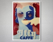 Illy Caffe Vintage Food&Drink Poster - Art Print - Poster Paper, Sticker or Canvas Print