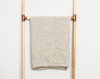 Heavy Linen Bath Towels (Large) / Bath Sheet / Beach Towel