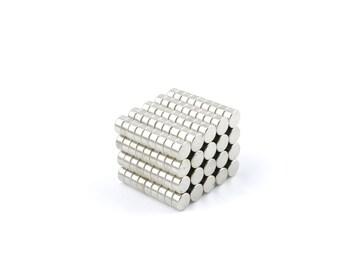 "Neodymium Magnets N35 4x2mm Disc (5/32"" x 5/64"") Magneten Supermagnet Aimant Permanent Magnet Magnete Neodym Crafting Super Strong Fridge"