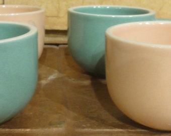 Vintage Set of 4 Mugs