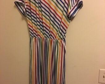 Authentic Lady Ronte Rainbow Dress