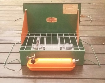 Vintage Thermos Two Burner Camp Stove