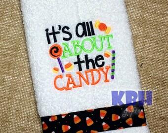 Halloween Hand Towel / Halloween Decor