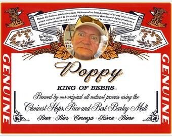 Personalized Beer Bottle Labels Name Brand Design 6 Pack Set Waterproof Groomsman Best Man Beer Labels Birthday Beer Labels Party Favor