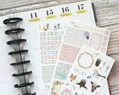 Woodland Birch Kit - HAPPY PLANNER - Planner Stickers - Matte or Glossy