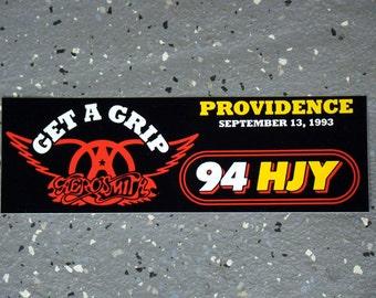 WHJY - Aerosmith - Bumper Sticker - 1993