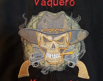 Kawasaki Vaquero Embroidered Shirt
