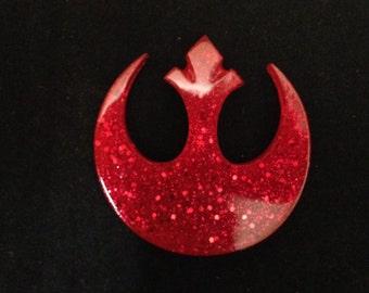 Confetti Lucite Rebel Sparklite™ Brooch