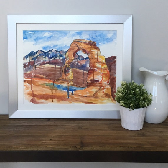 Delicate Arch- Giclee Print