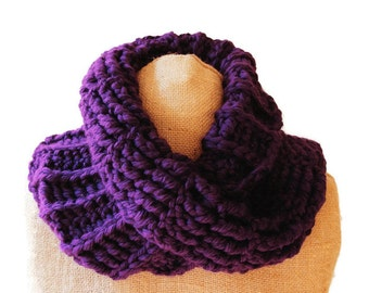 MADE TO ORDER Outlander inspired crochet mobius cowl