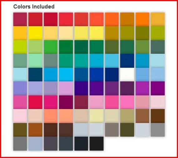 Dual Brush Amp Fine Pro Markers Pen Set 96 Colors Tombow