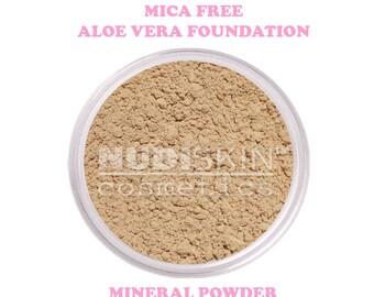 Mica Free Aloe Vera Mineral Makeup Powder Foundation - Samples
