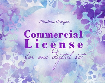 Commercial License for One Digital Set