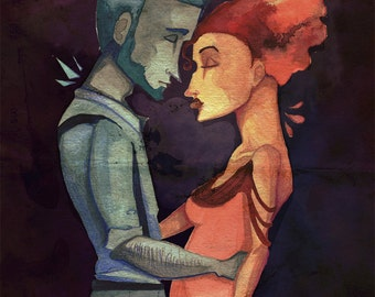 Hades & Persephone - Print