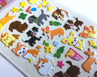 Sticker set dog dogs! (A1076)