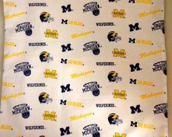 "Michigan ""Wolverines"" Pillow Case/Cover"