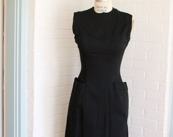 Vintage Black Dress by Helen Whiting Inc.