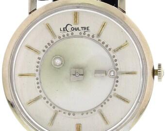 Men's LeCoultre Vintage 14K White Gold Watch