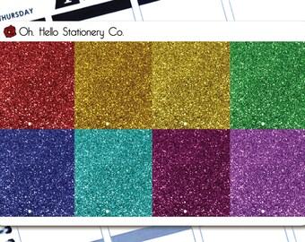 Planner Stickers Glitter Headers - Erin Condren Life Planners - G4