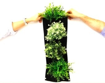 4 Pocket Vertical Planter - Creates a vertical garden in any space