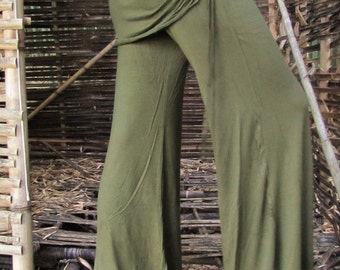 Flared wide Leg-Trousers